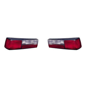 Fits 1987 1993 Ford Mustang Lx Taillight Pair Lh rh Fo2800168 fo2801168