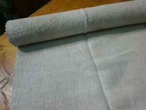 A Homespun Linen Hemp Flax Yardage 4 Yards X 22 Plain 9594