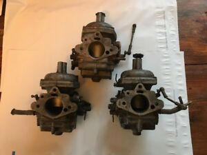 Stromberg Zenith 175 Cd 2 Carburetor Cd175 Carbs Mg Mgb Triumph Tr7 Jaguar Lot
