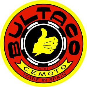 G132 Bultaco Cemoto Motorcycle Motorbike Scooter Decal Sticker Fully Laminated