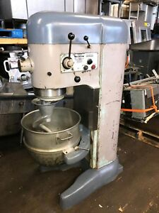 Hobart M802 M 802 80qt 80 Qt Dough Mixer 208v 1ph With Bowl Hook And Pto