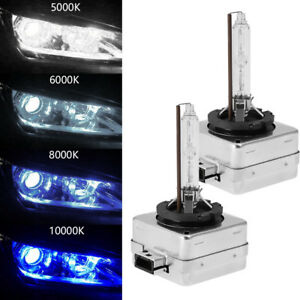 Oem Xenon Lights Bulbs Hid Kit D1s D1r 5000k 6000k 8000k 10000k For Philips