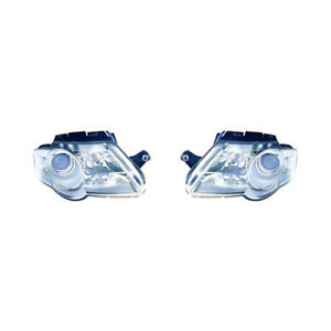 Fits 2006 2010 Volkswagen Passat Headlight Hella Type Pair Vw2502130 vw2503130