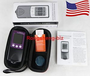 Cm8801fn Digital Coating Paint Thickness Gauge Meter Tester 0 1250um 0 50mil