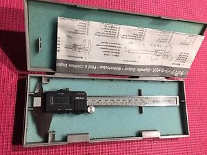 Mitutoyo Japan Made 6 Inch Blade Type Digital Caliper