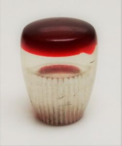 Vintage Red Cap Lucite Column Shift Knob Chevrolet Maybe