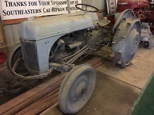 2n Ford Tractor On Steel Wheels 1941 ford 8n New Holland
