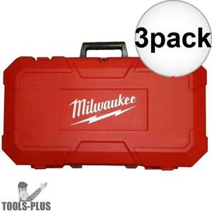 Milwaukee 42 55 2646 3x Grease Gun Replacement Hard Case New
