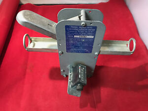 Hykon Olympic 1430 Cable Wire Tubing Meter Counter Measurer used