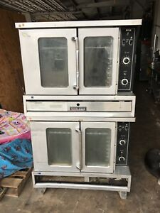 Double Stack Garland Electric Convection Oven 1 Or 3 Phase