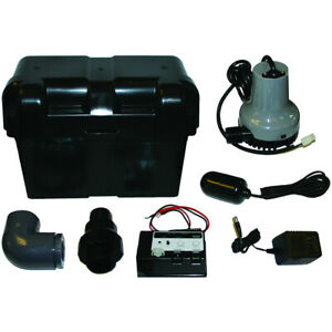 Barnes Bus Battery Backup Sump Pump System 1000 Gph 10