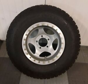 Tundra Based Armored Patrol Vehicle Forged 17x9 5 Beadlock Wheel Baja 1000