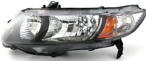 For 2010 2011 Honda Civic Coupe Headlight Headlamp Driver Side