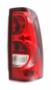 For 2003 Chevrolet Chevy Silverado 1500 2500 Tail Light Taillamp Passenger Side