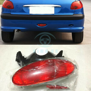 Rear Bumper Lights Lh Rh Assembly Single Sale For Peugeot 206 2005 2008