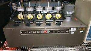 Tinius Olsen Heat Deflection distortion h d t Testing Unit For Parts