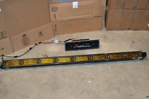 Whelen Traffic Advisor Assembly W Controller Tal85 Tactld1 Led Preowned