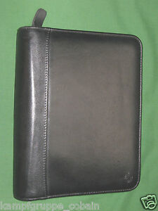 Classic 1 5 Black Top Grain Leather Franklin Covey Quest Planner Binder 6020