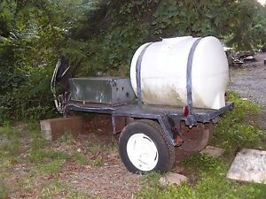 110 Gallon Chemical Tank On A Trailer powerwasher