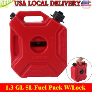 1 3gallon Gas Spare Container Fuel Pack Can With Mounting Kit Atv Utv Off Road E