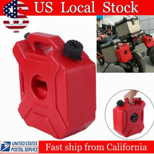 Fuel Can With Holder For Motorcycle atv 5 Liters 1 3 Gallons