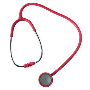 Adult And Child Stethoscope Professional Stethoscope Single Tube Silvering Head