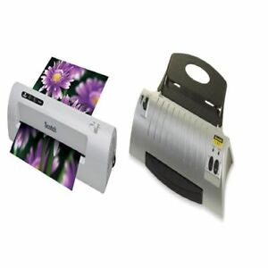 Scotch Thermal Photo Laminating Sheets Machine Laminator Pouch Home Office Use