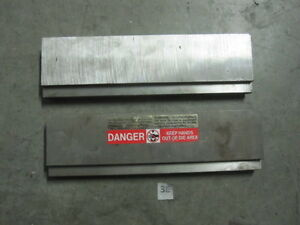 2 New Press Brake Dies 12 Long 1 1 4 Thick 3 7 16 Wide