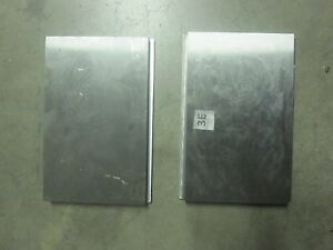 2 New Press Brake Dies Punch 4140 A B 8 Long 3 4 5 1 2 To 5 Wide 1 4 Lip