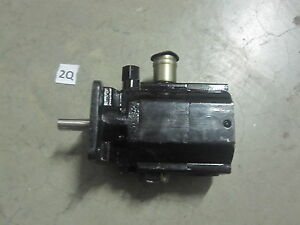 New Hydraulic Two 2 Stage Gear Pump 11 Gpm Logsplitter Hi Lo Low Log Splitter