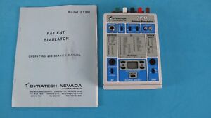 Dynatech Nevada 214m Patient Simulator 214 ecg Respiration Bp Temperature