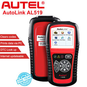 Autel Autolink Al519 Auto Diagnostic Scanner Tool Obd2 Can Code Reader Live Data