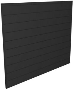 Proslat Garage 4 feet Gray Slat Wall Board Tool Storage Organization Panel Kit