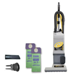 Proteam 107252 Proforce 1500xp Hepa 15 Commercial Upright Vacuum Cleaner new
