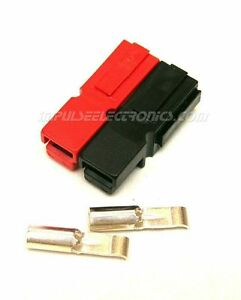 Anderson Powerpole Connector 15 Amp Red Black Bonded Housings 50 Pack