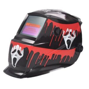 Huntsman Welding Helmet With Quality Headstrap For Comfort In Scary Mask Design