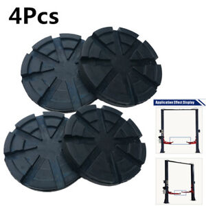 4x Universal Heavy Duty Rubber Arm Pads For Truck Hoist Car Lift Accessories Kit Fits More Than One Vehicle