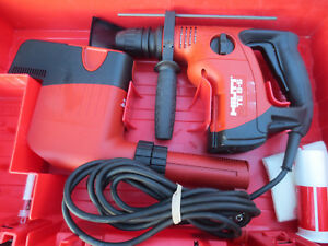 Hilti Te 6 s Preowned Free Bits W Drs Dust Collector Looks Near Perfect