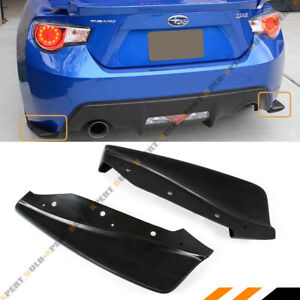 For 2013 2016 Scion Fr S Frs Subaru Brz Cs Style Rear Bumper Aero Side Aprons