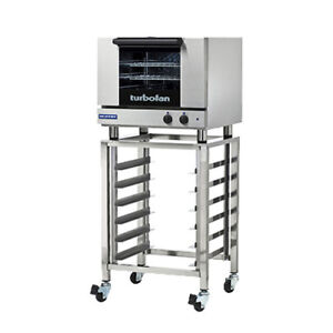Moffat E22m3 sk23 Countertop Electric Turbofan Convection Oven On The Sk23 Stand