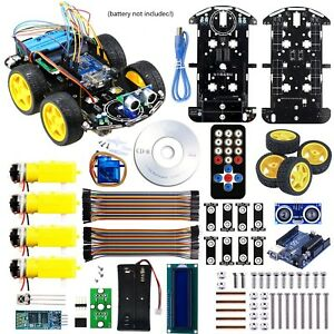Arduino Project Smart Robot Car Kit With Four wheel Driver Uno R3 Integrated