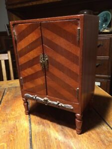 Antique 19th Century Wood Salesman Sample Furniture Miniature Chest Dresser