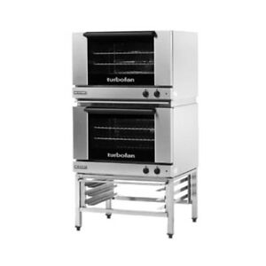 Moffat E27m3 2 Double Stacked Electric Turbofan Convection Oven