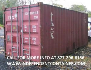 20 Cargo Container Shipping Container Storage Container In Louisville Ky