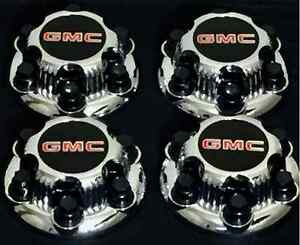 4 X Gmc Sierra Yukon Savana 6 Lugs 1500 Chrome Center Cap Hub 16 17 Wheel