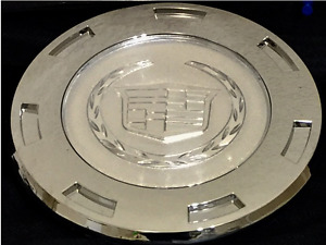 New 07 14 Plain Crest Cadillac Escalade 22 Wheel Center Cap Hub 7 Spoke 1 Pc