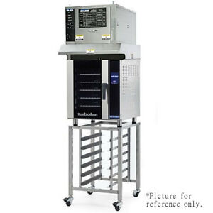 Moffat E33t5 ovh33 sk33 Turbofan Convection Oven With Ventless Hood And Stand