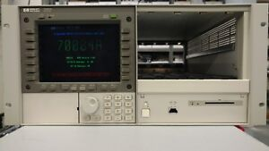 Hp Agilent 70004a 4 slot Modular Display Mainframe Chassis as Is