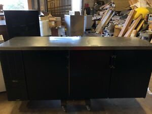 Perlick Cs84sb 3 Door Black Back Bar Cooler Undercounter Cooler Refrigeration Un
