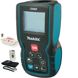 Makita Ld080p 262 Laser Distance Measure Battery Operated 635 Nm Class Ii New